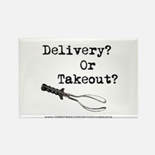 Delivery? Or Takout? Rectangle Magnet