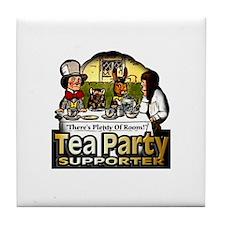 Tea Party ~ Tile Coaster