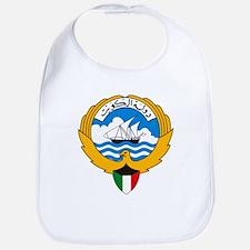 Kuwait Coat of Arms Bib
