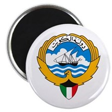 """Kuwait Coat of Arms 2.25"""" Magnet (10 pack)"""