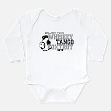 Aviation Long Sleeve Infant Bodysuit