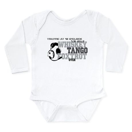 Aviation Humor Long Sleeve Infant Bodysuit