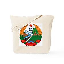Laos Coat of Arms Tote Bag