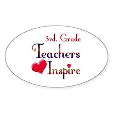 Unique Elementary educator Decal