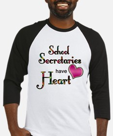 Teachers Have Heart school secretary Baseball Jers