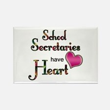 Teachers Have Heart school secretary Magnets