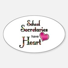 Funny Secretary school Decal