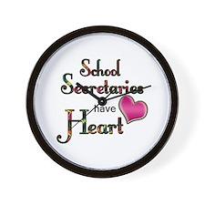 Unique School secretary Wall Clock
