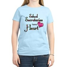 Teachers Have Heart school secretary T-Shirt