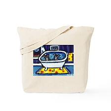 RAT TERRIERS bath Tote Bag