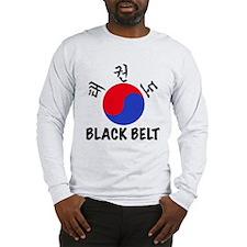 TKD Black Belt Long Sleeve T-Shirt