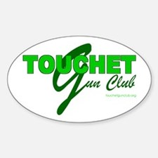 Touchet Gun Club Oval Decal