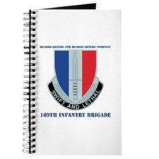 HHC - 189th Infantry Bde with Text Journal