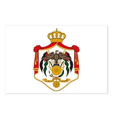 Jordan Coat of Arms Postcards (Package of 8)