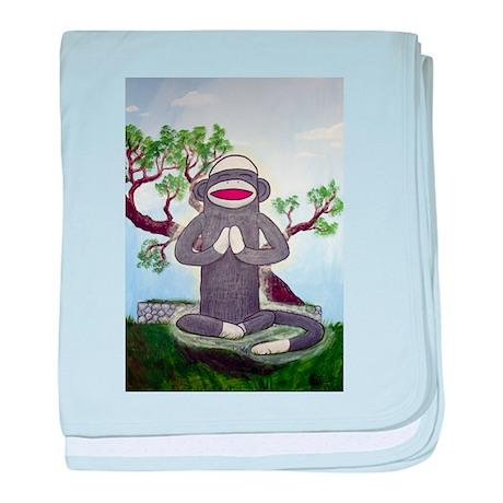 Sock Monkey Nirvana Infant Blanket