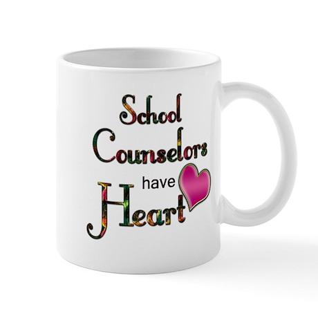 Teachers Have Heart counselors Mugs
