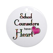 Cute Counselor Ornament (Round)
