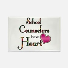 Cute School counselor Rectangle Magnet