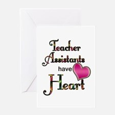 Teachers Have Heart assist Greeting Cards