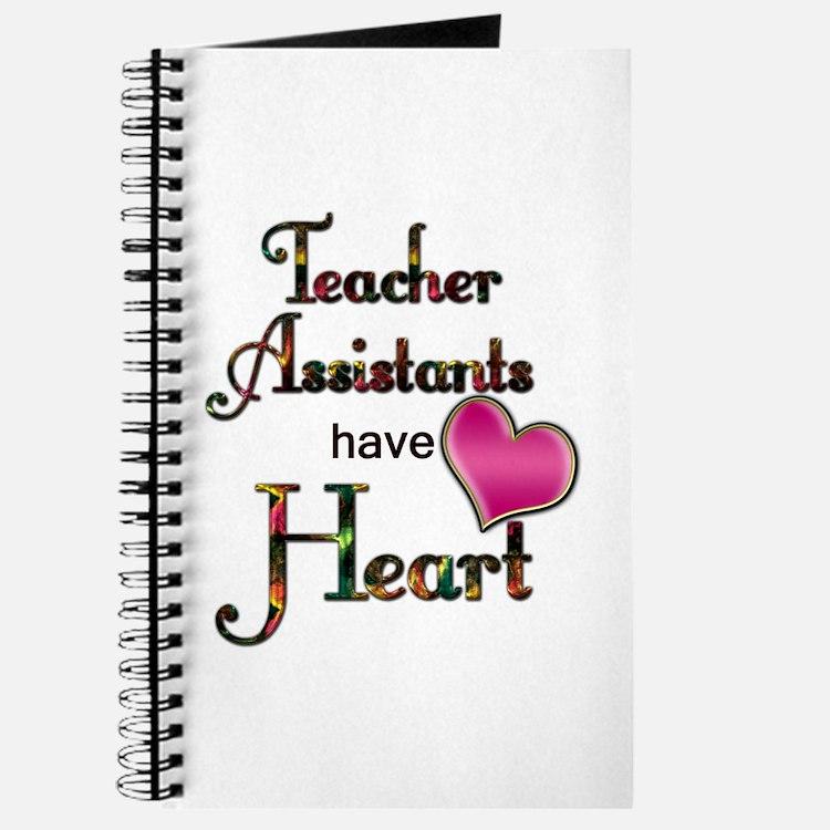 Cute Teacher assistant Journal
