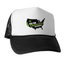 Marijuana Trucker Hat