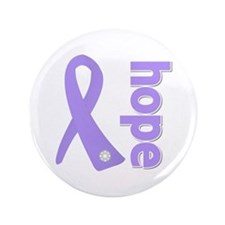 """General Cancer Hope 3.5"""" Button (100 pack)"""