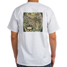 Old American Map T-Shirt