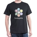 hexagons. the t-shirt.