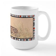Serval border Mug