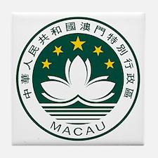 Macau Coat of Arms Tile Coaster