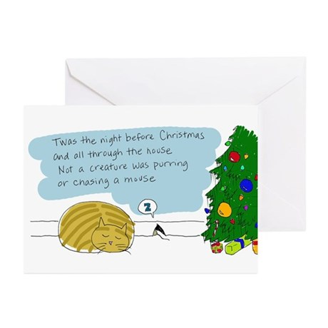 Kitty & Mouse Christmas Cards (Pk of 10)