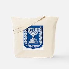 Israel Coat of Arms Tote Bag