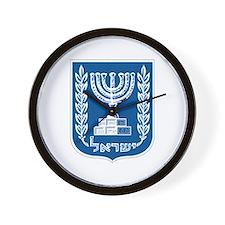 Israel Coat of Arms Wall Clock