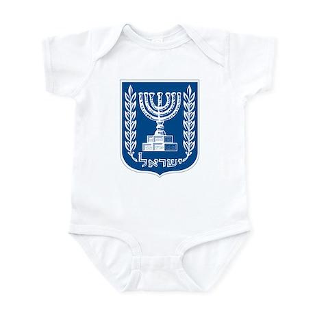 Israel Coat of Arms Infant Creeper