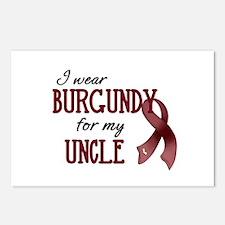 Wear Burgundy - Uncle Postcards (Package of 8)