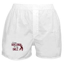Wear Burgundy - Uncle Boxer Shorts