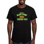 HO HO HO Men's Fitted T-Shirt (dark)