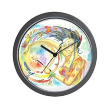 Funny Shamanic Wall Clock