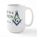 Masonic Better Half Large Mug