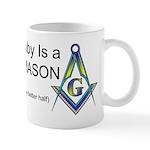 Masonic Better Half Mug