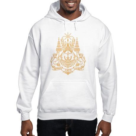 Cambodia Coat of Arms Hooded Sweatshirt