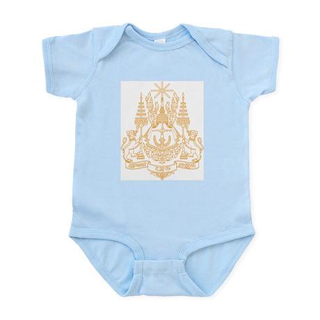 Cambodia Coat of Arms Infant Creeper