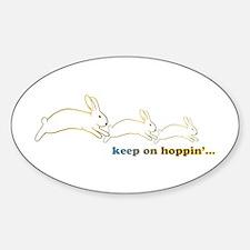 keep on hoppin' Decal