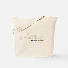 keep on hoppin' Tote Bag