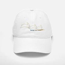 keep on hoppin' Baseball Baseball Cap