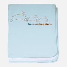 keep on hoppin' Infant Blanket