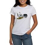 Yokohama Duckwing Chickens Women's T-Shirt