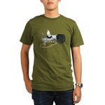 Yokohama Duckwing Chickens Organic Men's T-Shirt (