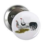 "Yokohama Duckwing Chickens 2.25"" Button (100"