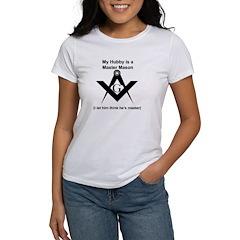 Masonic Hubby Master? Tee